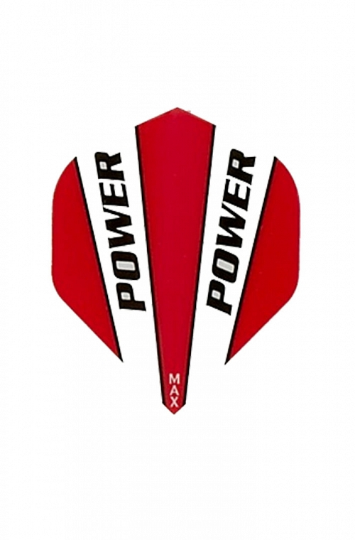McCoy Power Max Standard Red Flights