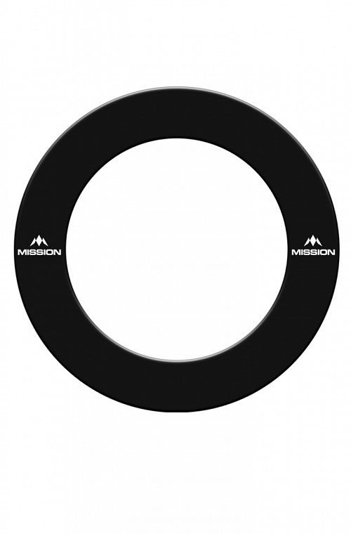 Mission Dartboard Surround Black