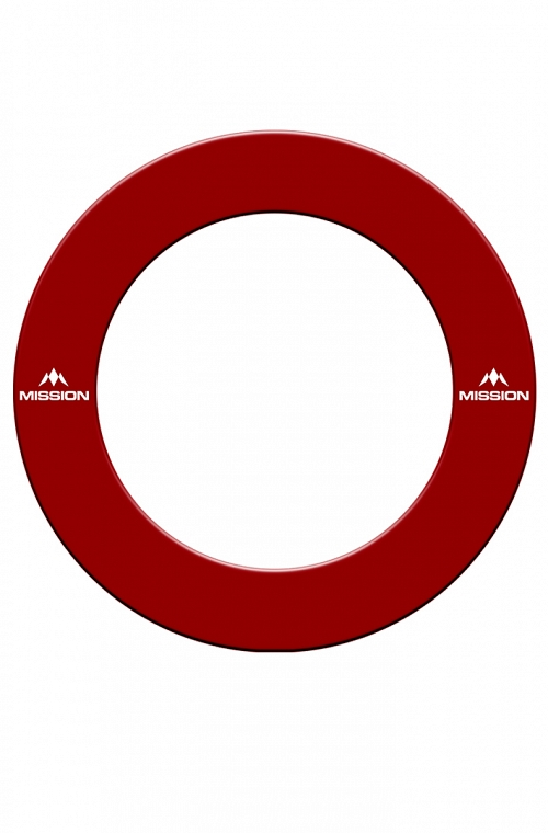 Mission Dartboard Surround Red