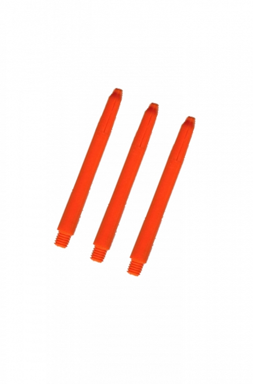 Nylon Medium Shafts Orange 47mm