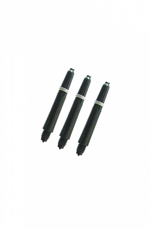 Nylon Short Shafts Black 34mm