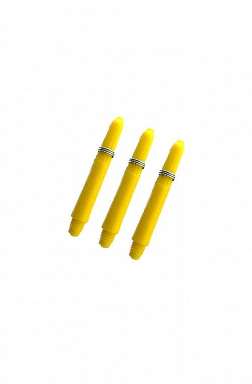 Nylon Short Shafts Yellow 34mm