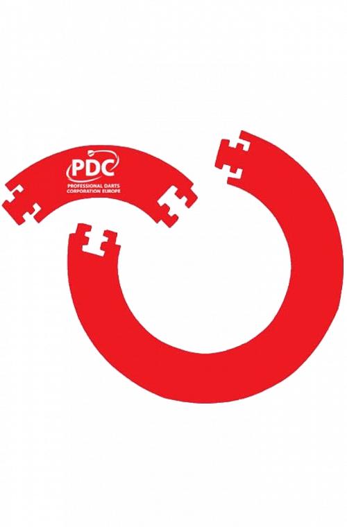 PDC Surround de 4 peças Vermelho