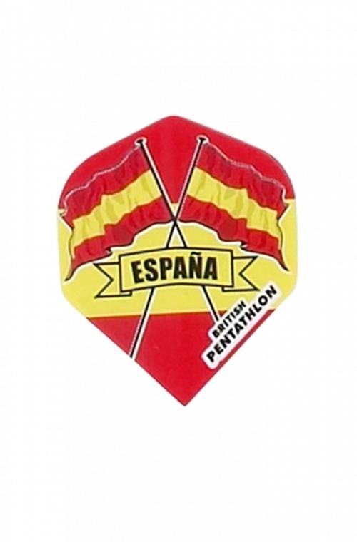 Pentathlon Standard Spain Flag Flights