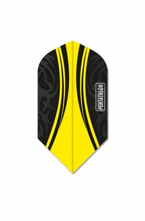 Pentathlon Vizion Swish Slim Yellow Flights