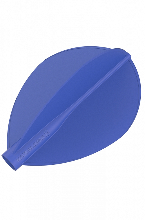 Plumas 8 Flight Oval Azul