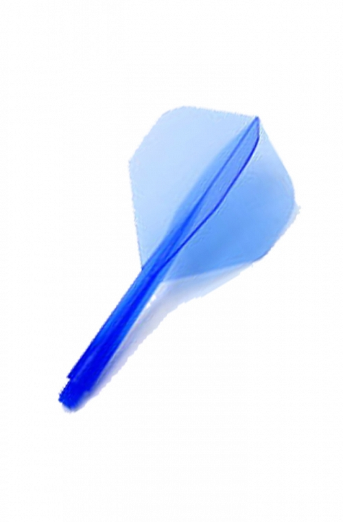 Plumas Condor Shape Clear Blue L