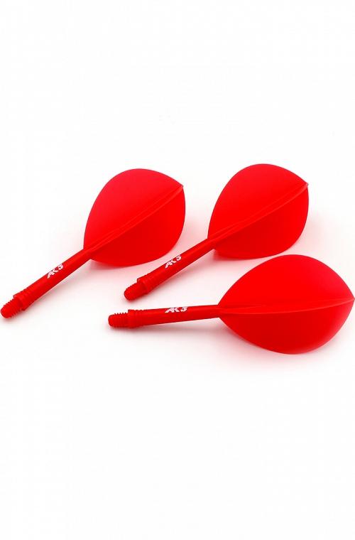 Plumas Cuesoul AK5 Oval Rojo S