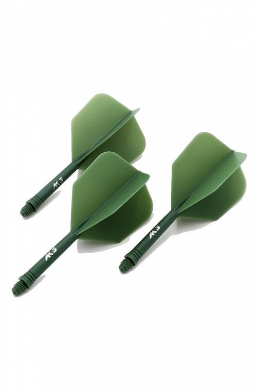 Plumas Cuesoul AK5 Shape Verde L