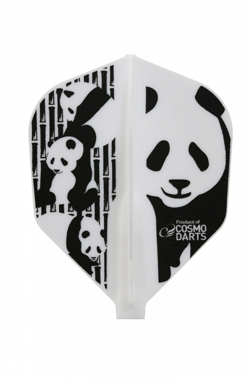 Plumas Fit Flight Shape Panda