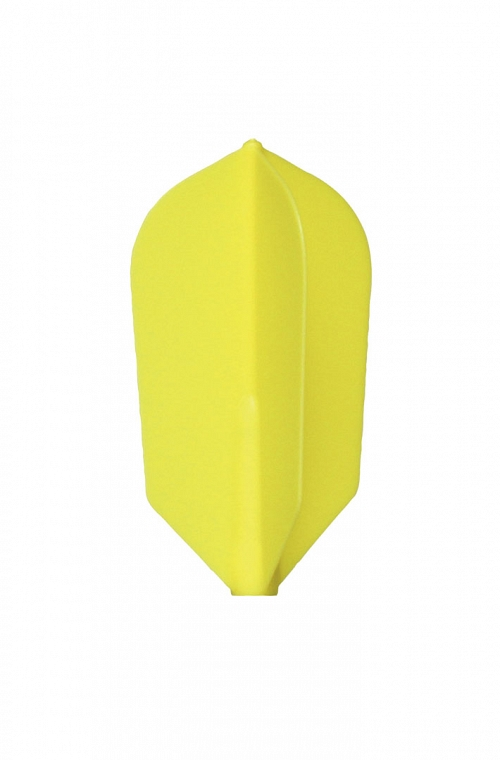 Plumas Fit Flight Slim Amarillo 6 uds