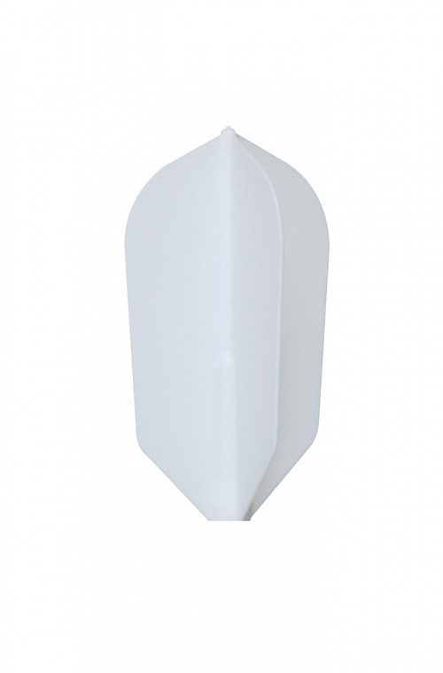 Plumas Fit Flight Slim Blanco 6 uds