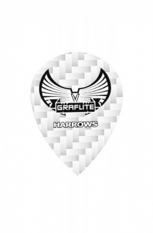 Plumas Harrows Graflite Oval Blanco