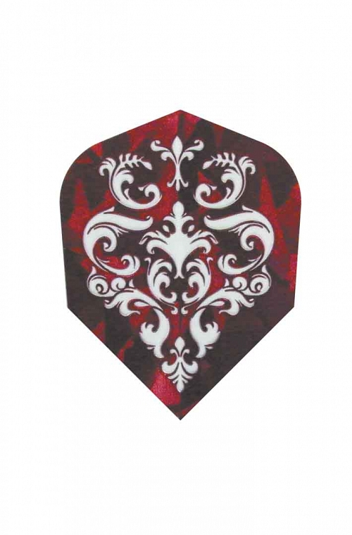 Plumas Harrows Hologram Pirate Rojo
