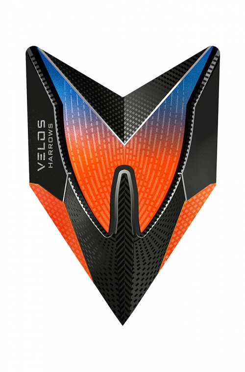 Plumas Harrows New Velos Naranja