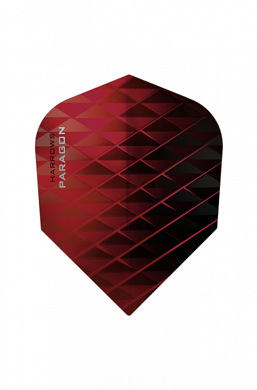 Plumas Harrows Paragon Rojo