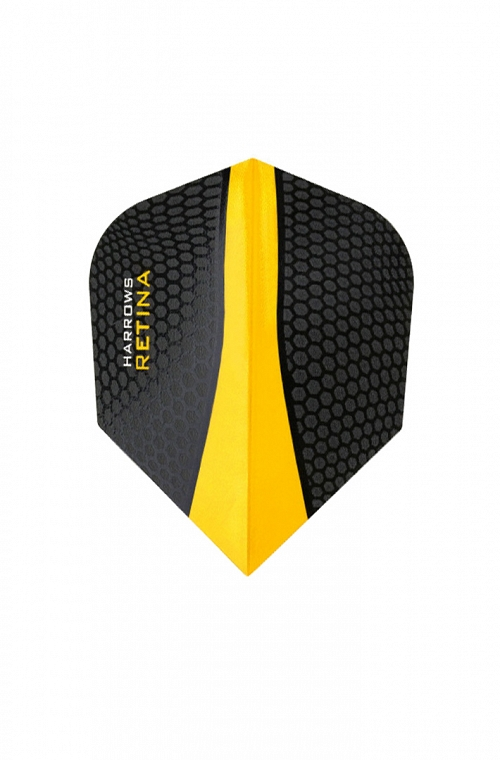 Plumas Harrows Retina Amarillo