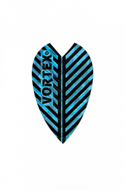 Plumas Harrows Vortex Todo Azul