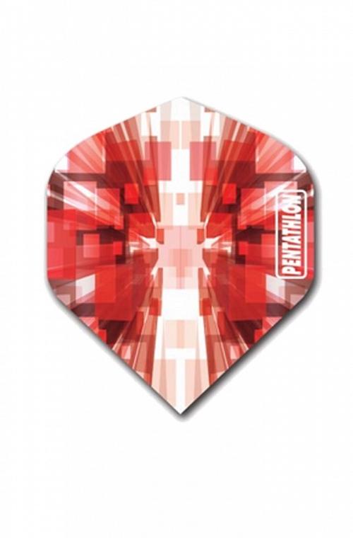Plumas Pentathlon Vizion Star Burst Rojo