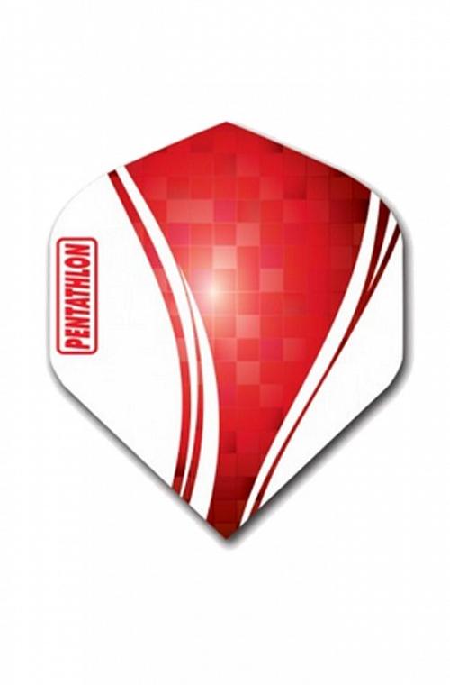 Plumas Pentathlon Vizion Swirl Rojo