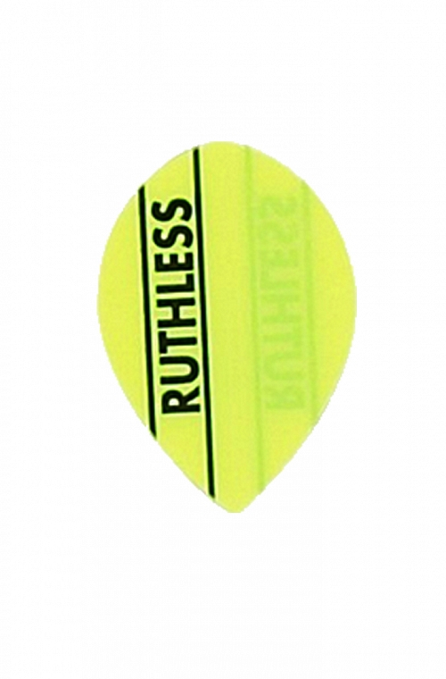 Plumas Ruthless Oval Amarillo