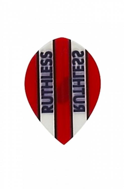 Plumas Ruthless Oval Rojo