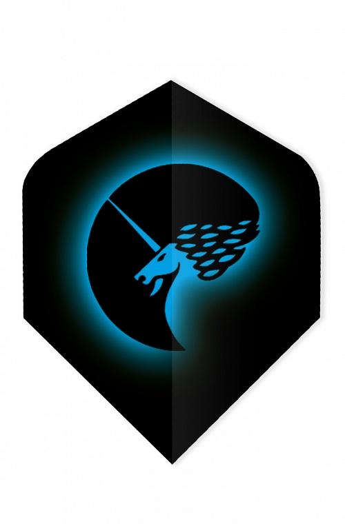 Plumas Unicorn Core 75 Logo Azul