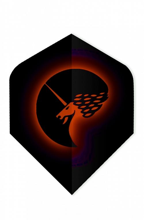 Plumas Unicorn Core 75 Logo Rojo
