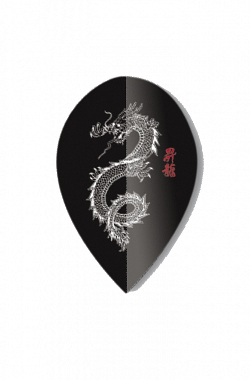 Plumas Unicorn Oval Dragon Metalic