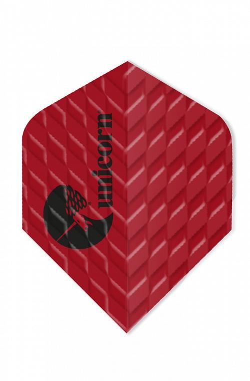 Plumas Unicorn Q 100 Standard Rojo