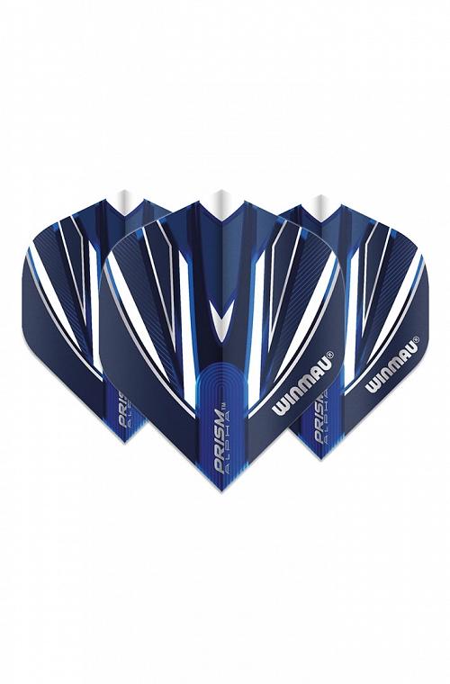 Plumas Winmau Alpha Standard Azul/Blanco