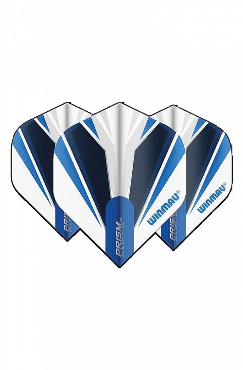 Plumas Winmau Alpha Standard Blanco/Azul