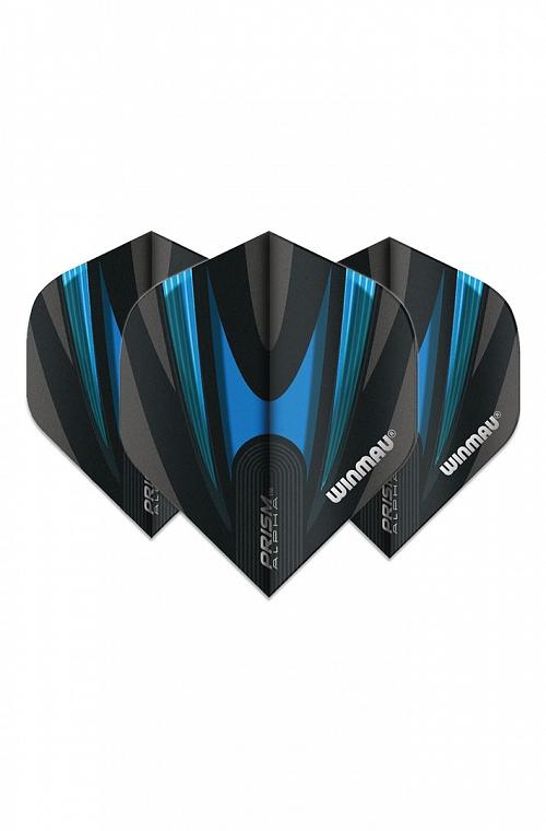 Plumas Winmau Alpha Standard Negro/Azul