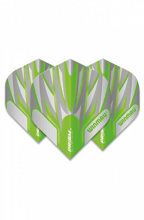 Plumas Winmau Alpha Standard Verde/Blanco