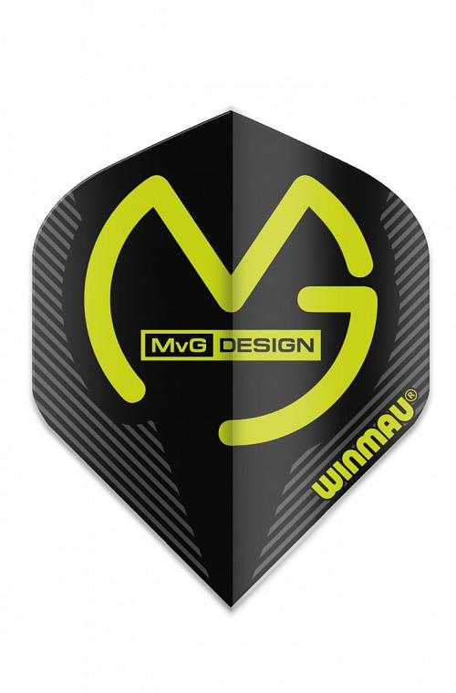 Plumas Winmau Mega Standard MVG Negro
