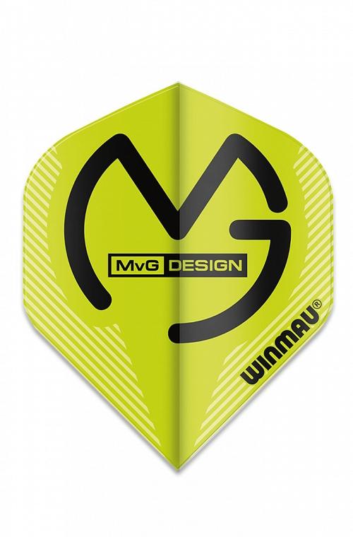 Plumas Winmau Mega Standard MVG Verde