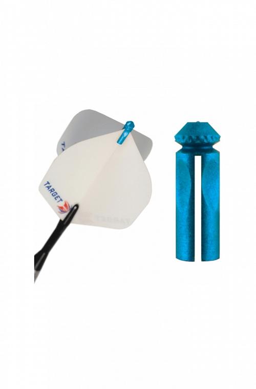 Protector Aletas Target Azul