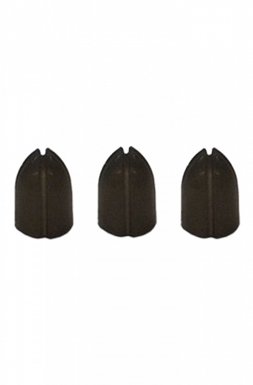 Shell Lcok Rings Black