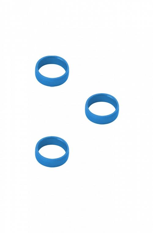 Target Blue Aluminium Rings