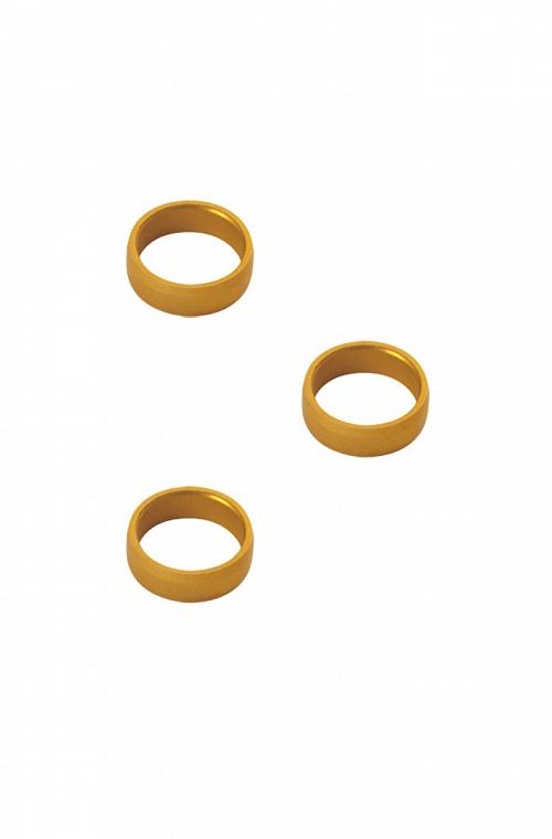 Target Golden Aluminium Rings