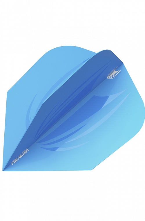 Target ID Pro Ultra Ten-X Blue Flights
