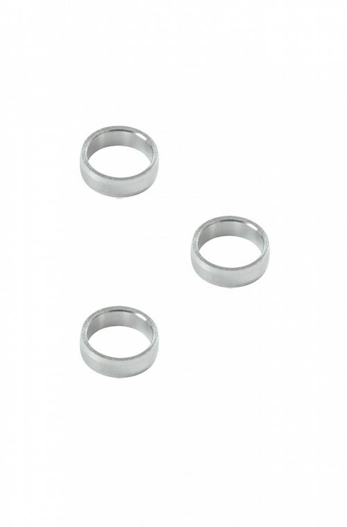 Target Natural Aluminium Rings
