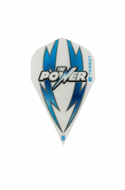 Target Power Arc Bolt Vapor White/Blue Flights