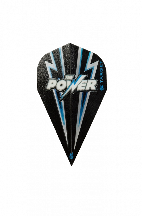 Target Power Flash Vapor Black/Blue Flights