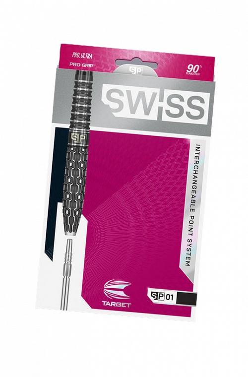Target Swiss Point SP01 Steel Tip Darts 22gr