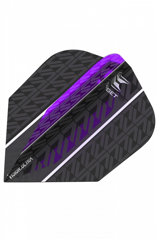 Target Vision Ultra Vapor 8 Black Purple N6 Flights