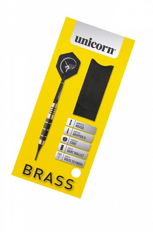 Unicorn Core Plus Brass Darts 17 grs
