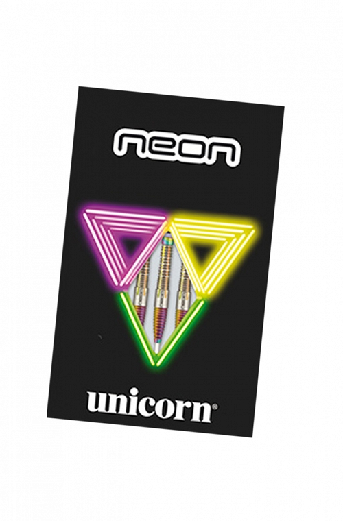 Unicorn Neon Darts 26g Steel Tips