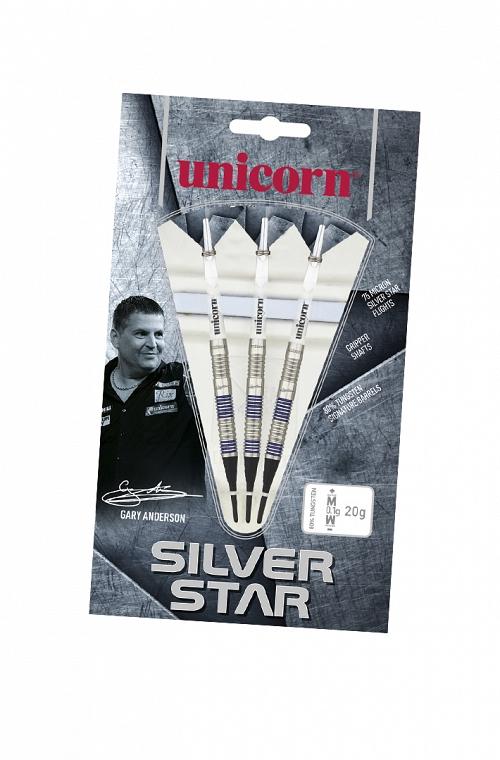 Unicorn Silver Star Gary Anderson Darts 20g