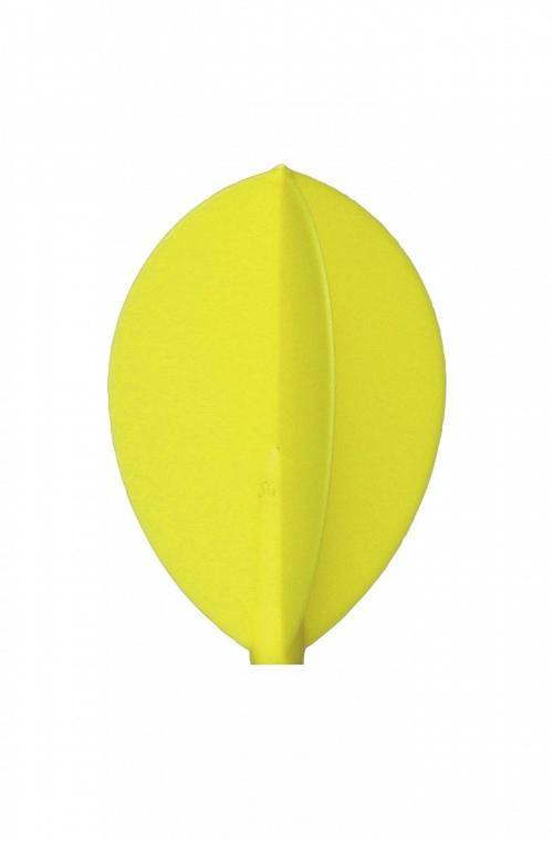 Voadores Fit Flight Oval Amarelo 3 uds